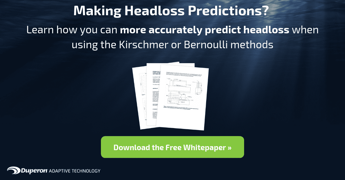 Download the Whitepaper that will help you predict your headloss